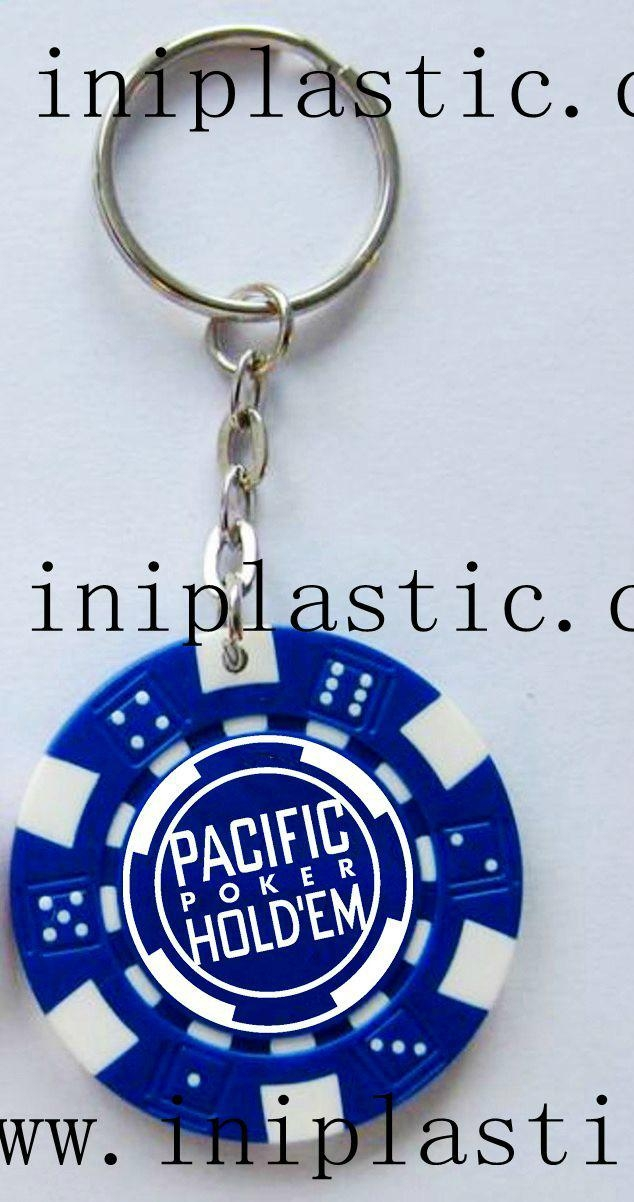 fridge magnet PVC magnetic sticker refrigerator poker chips keychain 9