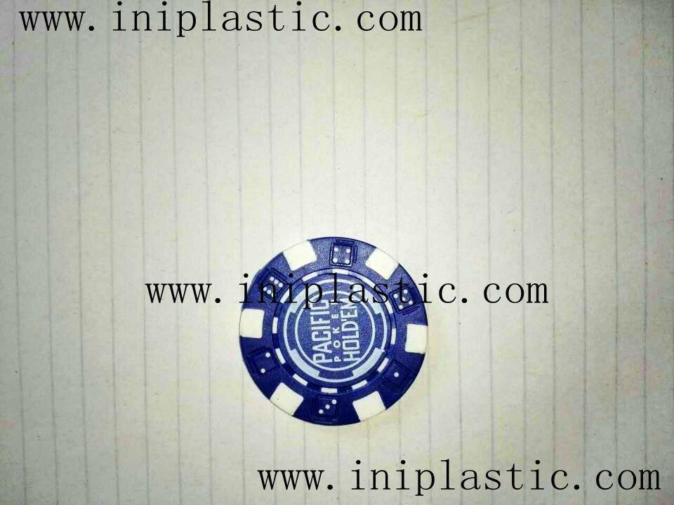 fridge magnet PVC magnetic sticker refrigerator poker chips keychain 10