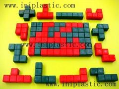 3D 立体拼块立体拼插块智力方块智力拼块拼图积木