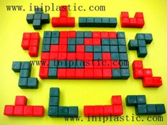 3D smart tiles tetris plastic Tetris plastic blocks 3D pentominoes