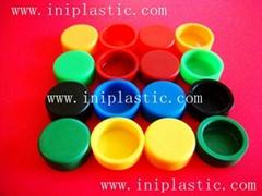 plastic round caps round