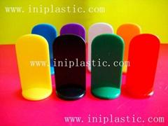 plastic token plastic stand plastic board traffic token toy capsule