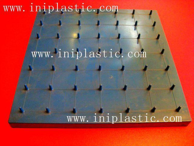 121個釘子板 塑料幾何釘板 釘子板 數形板 過頭釘板 3
