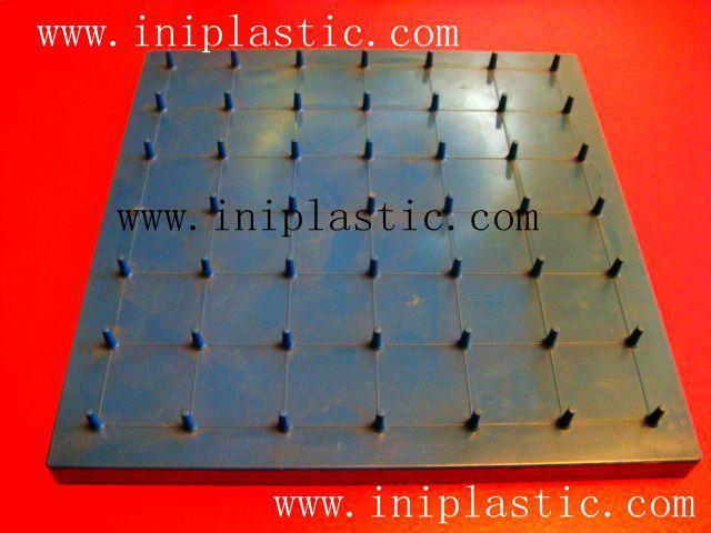 121個釘子板 塑料幾何釘板 釘子板 數形板 過頭釘板 11