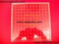 121個釘子板 塑料幾何釘板 釘子板 數形板 過頭釘板 12