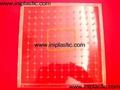 121個釘子板 塑料幾何釘板 釘子板 數形板 過頭釘板 16