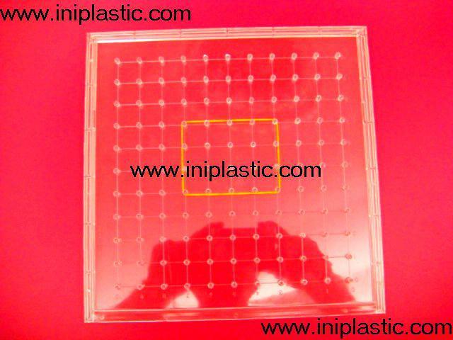 121個釘子板 塑料幾何釘板 釘子板 數形板 過頭釘板 17