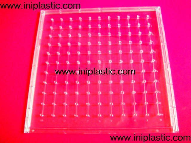 121個釘子板 塑料幾何釘板 釘子板 數形板 過頭釘板 18