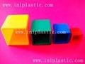 心形积木|心形拼块|几何模型体|木形状|木形体 11