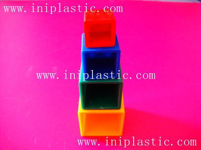 心形积木|心形拼块|几何模型体|木形状|木形体 12