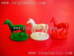 遊戲配件馬仔 塑料小馬 塑膠馬仔 塑料戰馬