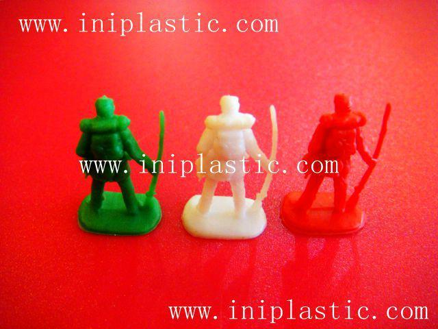 直立棋子|塑料兵|塑料兵馬|塑膠戰士 20