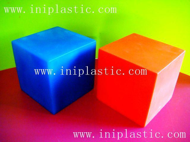 幾何投影架透明有色幾何鏡子數學鏡子數學投影鏡 10