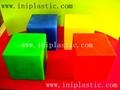 幾何投影架透明有色幾何鏡子數學鏡子數學投影鏡 8