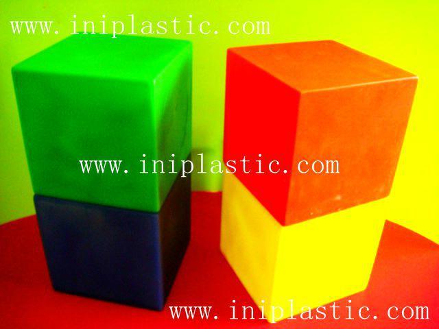 幾何投影架透明有色幾何鏡子數學鏡子數學投影鏡 7