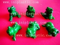 vinyl frogs PVC frog polyresin frog plastic frog resin frogs plastic tadpole