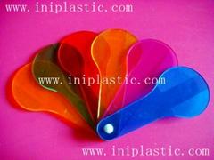 颜色划桨色桨色片彩色塑胶片彩色胶片塑胶彩色片