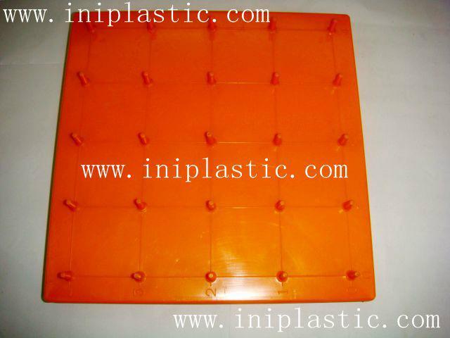 帶橡皮觔的幾何釘板|塑膠模具|塑料模具|塑膠工模 9