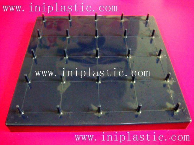 帶橡皮觔的幾何釘板|塑膠模具|塑料模具|塑膠工模 17