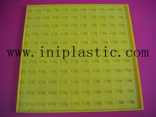 帶橡皮觔的幾何釘板|塑膠模具|塑料模具|塑膠工模 16