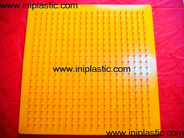 帶橡皮觔的幾何釘板|塑膠模具|塑料模具|塑膠工模 13