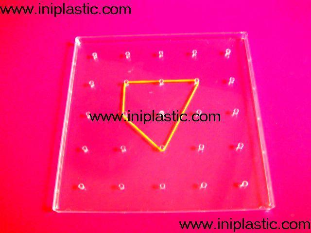 幾何投影架透明有色幾何鏡子數學鏡子數學投影鏡 13