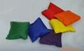 表面可四色印刷或绣花或刺绣的豆袋沙袋沙包 16
