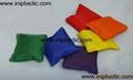 表面可四色印刷或绣花或刺绣的豆袋沙袋沙包 17