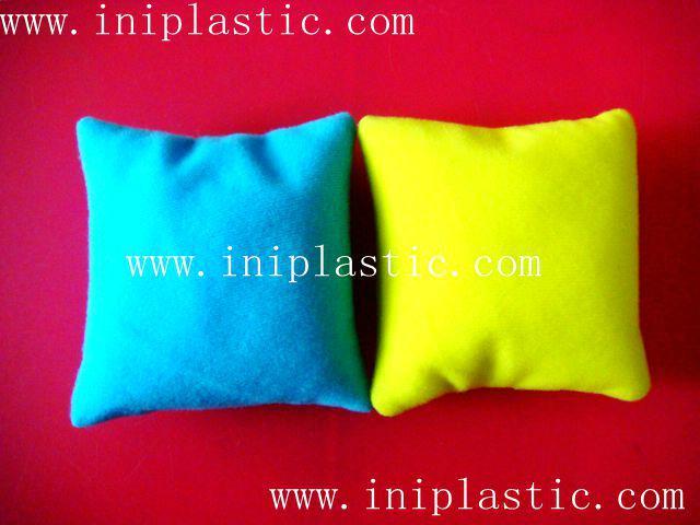 表面可四色印刷或绣花或刺绣的豆袋沙袋沙包 19