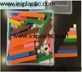 幾何圖形片|雙色數數片|數學片|益智玩具小學教具 16