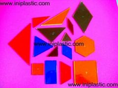 几何图形片|双色数数片|数学片|益智玩具小学教具