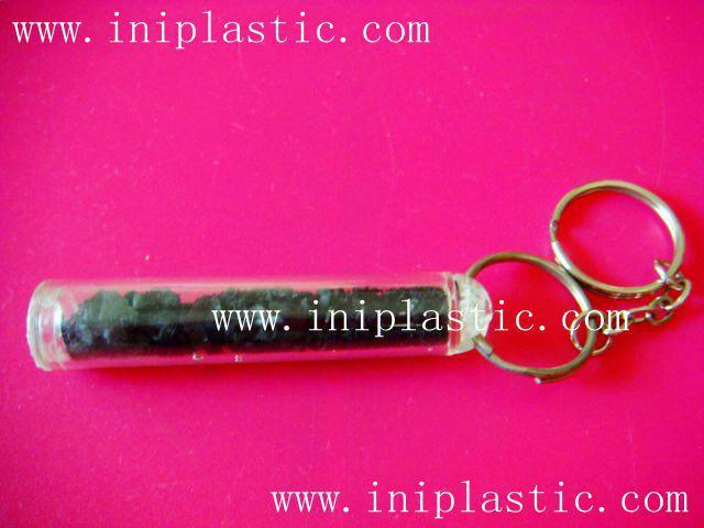 鑰匙扣帶吊飾是l塑料籌碼鑰匙扣兩面印刷logo 20