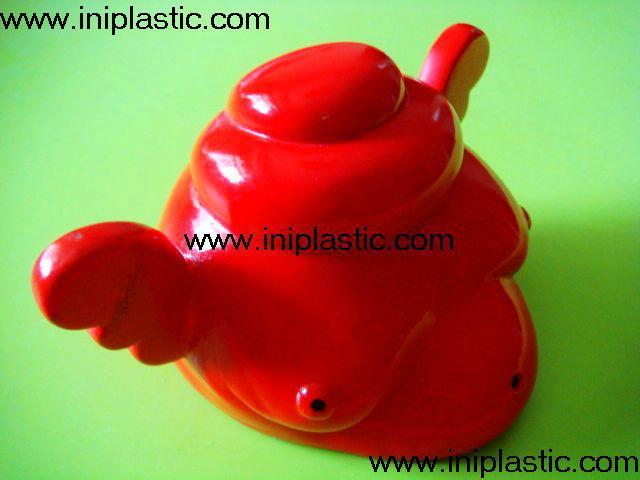 搪胶黑猪储钱罐搪胶白猪储钱罐黑白双猪储钱罐猪仔钱罐 12