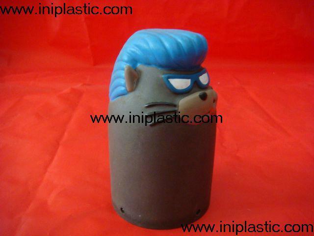 搪胶老鼠|PVC老鼠头|发声老鼠|发光老鼠玩具 15