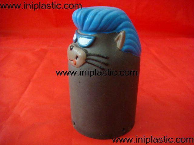 搪胶老鼠|PVC老鼠头|发声老鼠|发光老鼠玩具 19