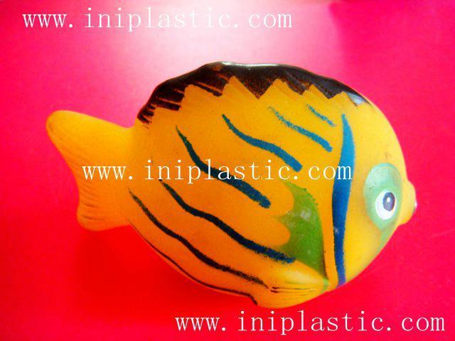 PVC鱷魚|搪膠魚|搪膠鱷魚|游泳魚|玩具游水魚|噴水魚 19
