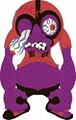 搪膠巫婆公仔 搪膠魚 搪膠魔朮師 搪膠公仔 搪膠人物 10