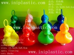 頭部帶圈鴨|重鐵鴨|釣魚鴨子|塑料鴨|PE鴨|PP鴨