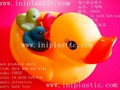 plastic duck fishing duck weight duck with loop on head
