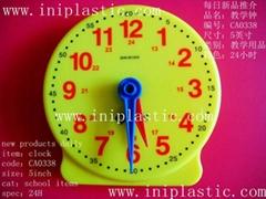 24小時教學鐘|5英吋教學鐘錶