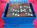 domino  dominoes plastic tiles number tiles game