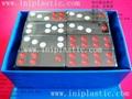 domino  dominoes plastic tiles number