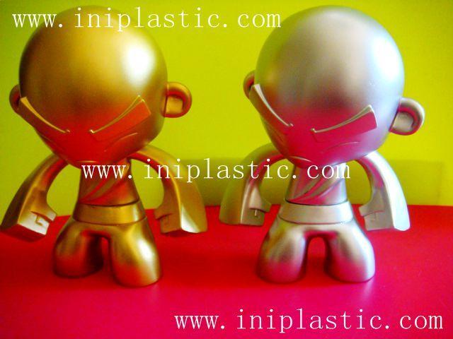 搪胶公仔 搪胶创意模型 搪胶创意人物门挡 中山玩具厂 3