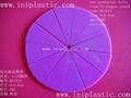 比例圈|数学圈|透明塑料圈|透明塑胶圈|分数测量圈 20