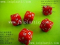 custom dice printing dice hotel dice plastic dice dots etched dice carved dice