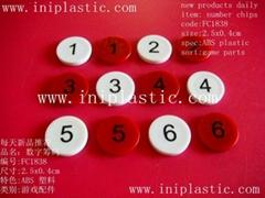 bingo chips round chips plastic fiches