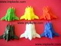 mini rocket vinyl rocket plastic rocket toy rocket