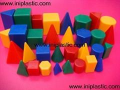 plastic geo solids sponge geometric shapes school articles