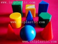 透明塑料量杯|量筒|几何形状测量容器|液体测量器皿