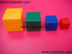 正方体|塑料几何体|塑胶几何模型|培训用具|智力玩具